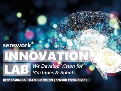 In seinem neuen Innovation Lab arbeitet senswork an Lösungen für die optische Inspektion mittels Deep Learning und KI.