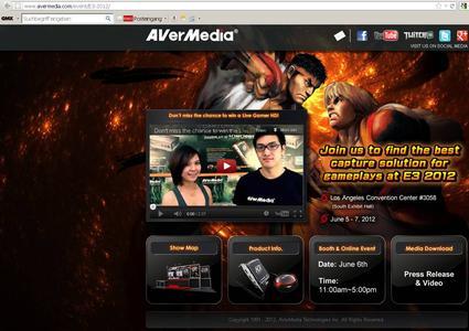 AVerMedia: ein weiterer Meilenstein für Gaming Enthusiasten auf der E3 2012 in Los Angeles