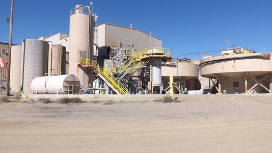Klondex Verarbeitungsanlage, Nevada