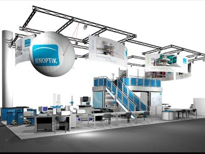 Products and innovations are on display at the Control trade fair at the Jenoptik booth 3501 in Hall 3