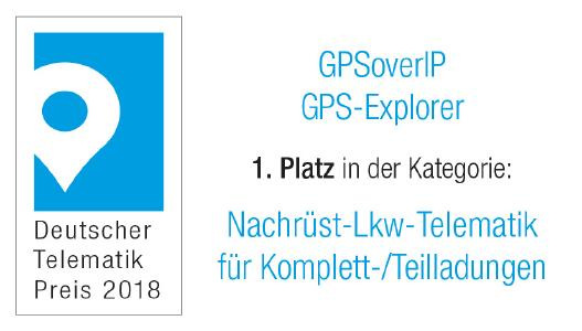 Deutscher Telematik Award 2018 GPSoverIP Teilladungen