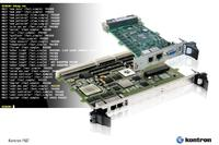 Intelligent Power-on Built-In Test Solution for  Kontron VPX/OpenVPX and VME processor boards