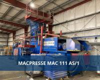 Versteigerung einer 47.000 kg MACPRESSE Ballenpresse in Hamburg