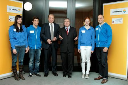 Vattenfall präsentiert Förderprogramm für Olympioniken