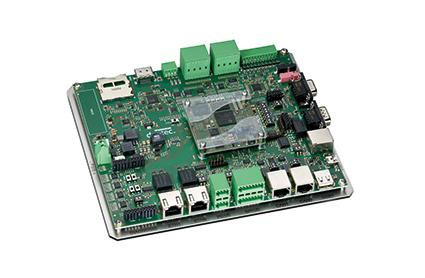 duoMod-I-AM335x auf Evaluation Board