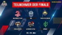 Finals Teilnehmerfeld