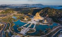 HARVEY® integriert in das moderne buddhistische Konzept des Altars von Zhousan