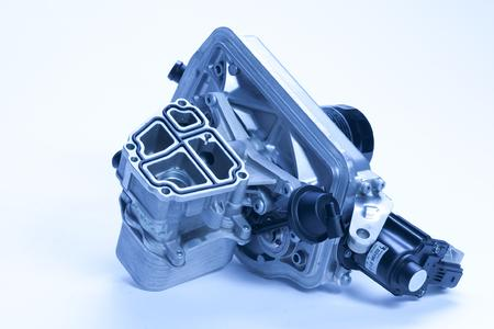 Combined EGR cooler for commercial vehicles