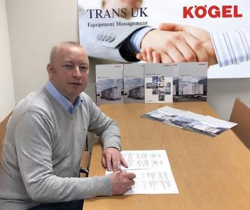 Mike Wilkes, Geschäftsführer bei Trans UK Equipment Management Ltd