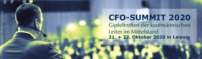 Die IFC EBERT und der Bundesverband der Bilanzbuchhalter und Controller e.V. möchten Sie gemeinsam zu dieser Fachkonferenz am 21.-22. Oktober nach Leipzig einladen. Beim CFO-Summit 2020 stehen dieses Jahr folgende Themen im Fokus: Working Capital Management -Liquiditätsmanagement - Jahresabschluss 2020 – Planung 2021. Dazu werden aktuelle Trends, neue und erprobte Methoden, konkrete Beispiele und individuelle Erfahrungen speziell für Mittelständler vorgestellt und diskutiert.