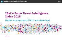 [PDF] Report IBM X Force Threat Intelligence Index 2018