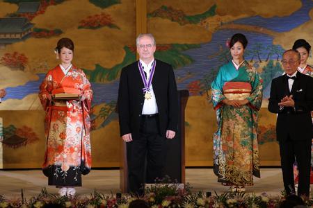 Träger des Kyoto-Preises 2010 in der Kategorie Kunst und Philosophie: Künstler William Kentridge