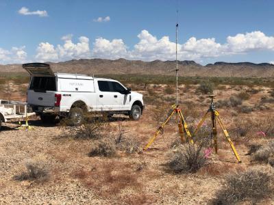 Untersuchungen auf dem La Paz-Projekt, Foto: American Rare Earths