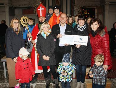 400.000 Euro spendet die WBS Training in diesem Jahr für soziale Projekte wie hier in Stralsund für eine Kindertagesstätte. (c) Ines Engelbrecht