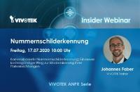 Kamerabasierte Nummernschilderkennung: Ein neuer kostengünstiger Weg zur Modernisierung Ihrer Parkeinrichtungen - VIVOTEK Webinar am 17.07.2020 um 10:00 Uhr