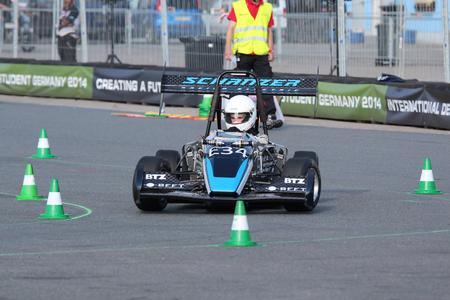 SRE on the race track at Hockenheimring