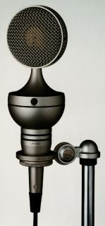 UM 900 - The first tube condenser mic with switchable polar pattern, connectable to 48 V phantom powering