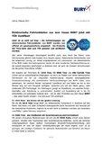 [PDF] Pressemitteilung: Elektronische Fahrtenbücher aus dem Hause BURY jetzt mit TÜV-Zertifikat!