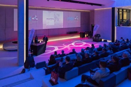 Festakt zum FSK-Innovationspreis Polyurethane 2017 bei der Firma Fill GmbH in Gurten.