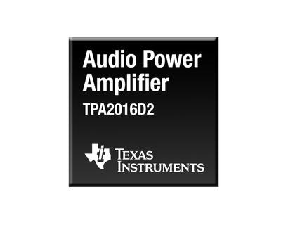 TI boosts portable audio performance with industry's first stereo Class-D amplifier featuring dynamic range compression and speaker protection