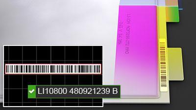 Auslesen von 1D-Barcode