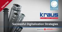 Digitalization as competitive advantage: KRAUS Austria launches product configurator for conveyor rollers powered by CADENAS