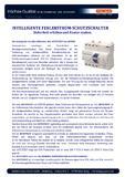 [PDF] Pressemitteilung: Intelligente Fehlerstrom-Schutzschalter