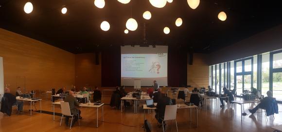 Praxisseminar für Fuhrparkbetreiber in der Stadthalle Nobelgusch in Pfedelbach 2021