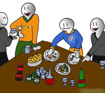 Business breakfast, Comic: Acronis Business Breakfast