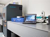 Ab Mitte des Jahres können im Applikationslabor von Laser 2000 grundsätzliche Machbarkeitsstudien auch mit dem neuen blauen 500-Watt-Laser durchgeführt werden.
