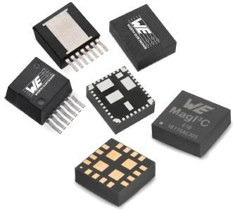 Die VDRM-Serie der MagI³C-Power-Module-Familie im TO263-Gehäuse realisiert einen voll integrierten DC/DC-Spannungswandler / Bildquelle: Würth Elektronik eiSos