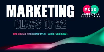 Marketing Class of 22 - Die Digital-Marketing-Messe der Evernine Group im Februar 2021