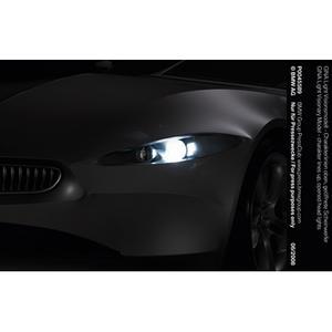 GINA Light Visionsmodell - Charakterlinien oben, geöffnete Scheinwerfer
