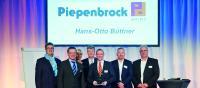 Piepenbrock-Niederlassungsleiter Hans-Otto Büttner freut sich über die Auszeichnung mit dem BVMW-Unternehmerpreis. (Bild: BVMW – Bundesverband mittelständische Wirtschaft, Kreisverband Südniedersachsen)