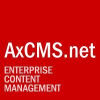 AxCMS.net 5.5 - Enterprise CMS auf .NET 2.0 Basis