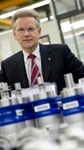 Dr. Manfred Wittenstein, Vorstandsvorsitzender der WITTENSTEIN AG: seit Oktober 2007 auch Präsident des VDMA (Verband Deutscher Maschinen- und Anlagenbau), größter Branchenverband Europas