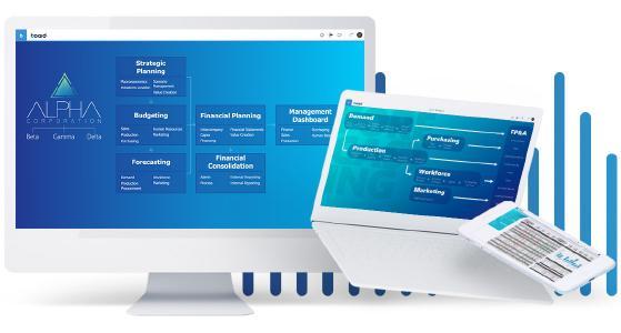 Eine einheitliche Plattform für Planung, Analytics und Simulationen