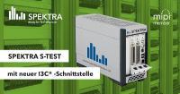 SPEKTRA S-TEST unterstützt Test von Sensoren mit neuer I3C® -Schnittstelle