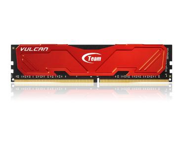 DDR4-Arbeitsspeicher Vulcan Series Red der Team Group Inc.