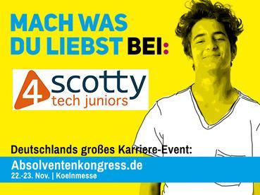4scotty Juniors - Absolventenkongress 2018 in Köln