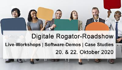 "Aktuelle Messen & Events: ""Digitale Rogator-Roadshow 