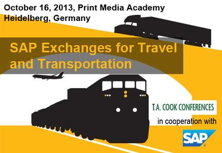 Westernacher at SAP Exchanges for Travel and Transportation 2013
