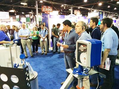 UWT GmbH together with Auburn Systems at trade show PTXi Chicago