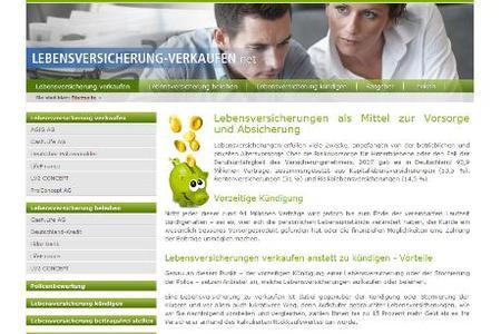 Lebensversicherung-verkaufen.net berichtet