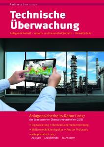 Titelseite Technische Überwachung 2017
