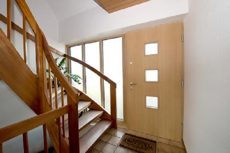 Unilux Holz-Haustür Innenansicht
