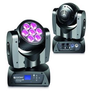 Movilidad y velocidad excepcionales - cabeza móvil AuroBeam 150 de Cameo