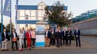 Besuch Bundesministerin Karliczek und Regierungspräsidentin Feller bei der Initiative Klimahafen Gelsenkirchen