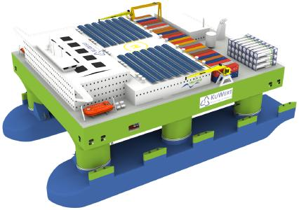 Schiffsbasierte Aufbereitungsplattform für Kunststoffabfälle