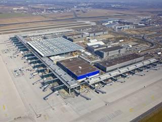 """Ready for Take off. Auch schon vor seiner Eröffnung ist der Flughafen BER ein wichtiger Wachstumsmagnet für die regionale Industrie."""" (Foto: Dirk Laubner/Flughafen Berlin Brandenburg)"""